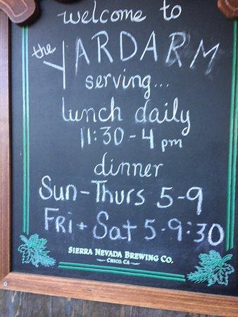 The Yardarm Resturant: photo0.jpg