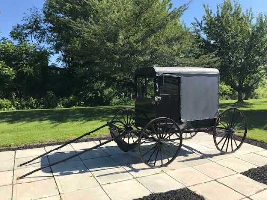 Mountville, PA: Authentic Amish Buggy