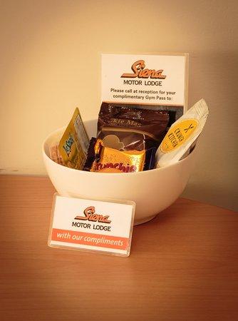 Whanganui, Selandia Baru: A welcome bowl of goodies to settle you in.