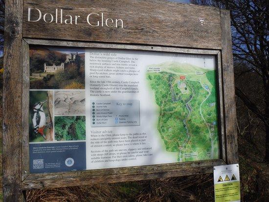 Dollar, UK: The signage.