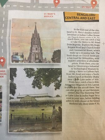 Lahe lahe in the Hindu paper as things to do in east