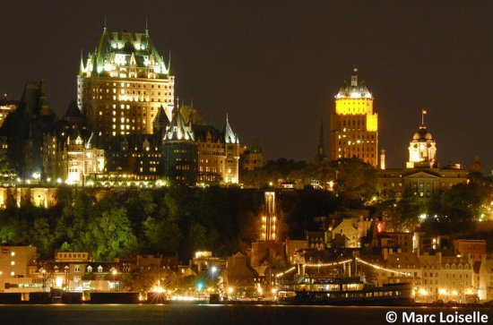 Québec Bootsfahrt mit Abendessen