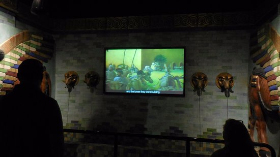 Numerous Video Displays Picture Of Creation Museum