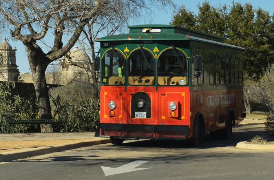 San Antonio 2-Day Hop-On Hop-Off Trolley and Double-Decker Bus Pass
