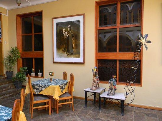 Hotel Los Andes de América: Café da manhã.