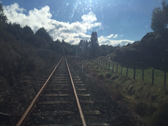 Railcruising: a picture of the track
