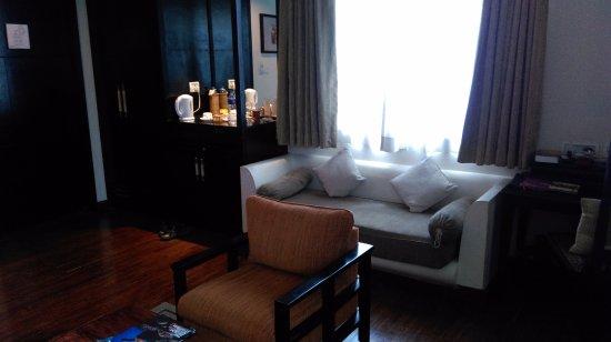 Gokarna Forest Resort: spacious deluxe room