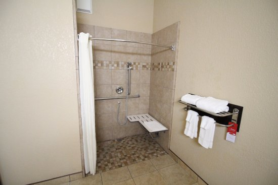 Fallbrook, CA: HANDICAP ACCESSIBLE ROOM ROLL IN SHOWER