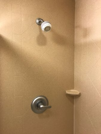 Water shower can be better - Picture of Hampton Inn & Suites ...