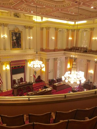 California State Capitol and Museum: The Senate room