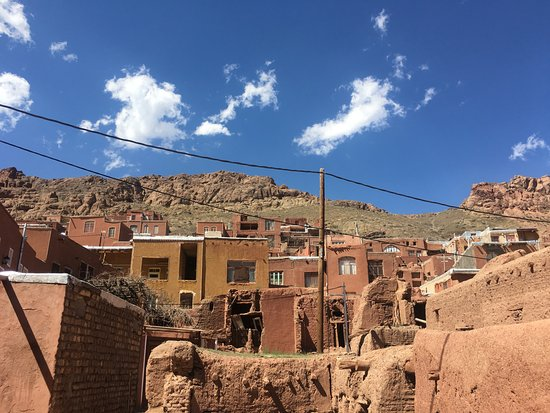 The red bricks village of Abyaneh