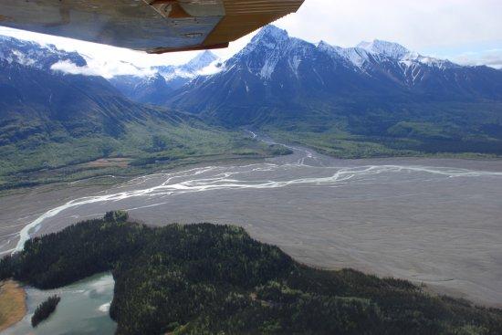 McCarthy, AK: braided glacial stream