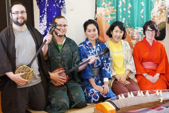 Yuka's Music & Tea with Kimono work shop(& Culture house)