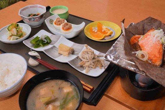 Shizukuishi-cho, Japan: 朝食 (和定食)