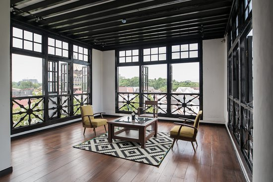 1st Floor Lounge Area With Breathtaking Views Over Kuching City Picture Of The Marian Boutique Lodging House Kuching Tripadvisor
