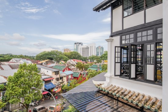 The Marian Sits Atop A Hill Overlooking Kuching City Picture Of The Marian Boutique Lodging House Kuching Tripadvisor