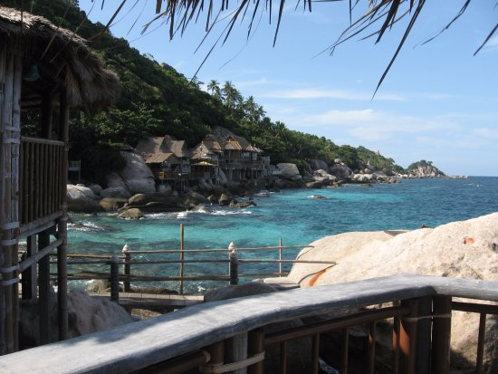 Koh Tao Bamboo Huts : View from BB6