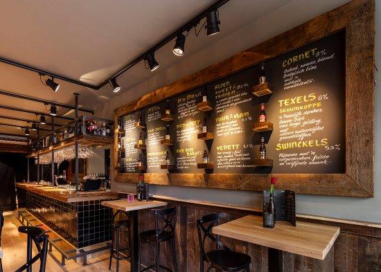 Kitchen Art Leiden.Brickwall Art Door Tinus Teder Picture Of Hudson Bar Kitchen