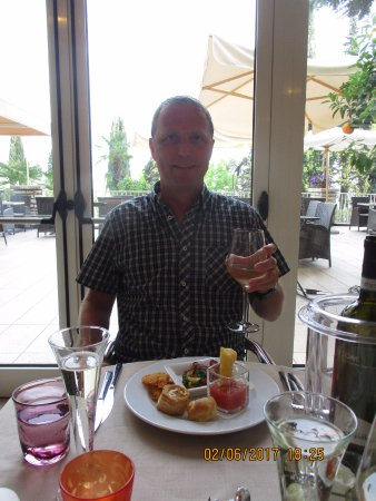 the lovely restaurant - thank you - Picture of Hotel Excelsior le ...