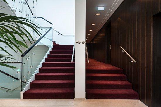 Zeltweg, Austria: Treppenhaus Gästehaus