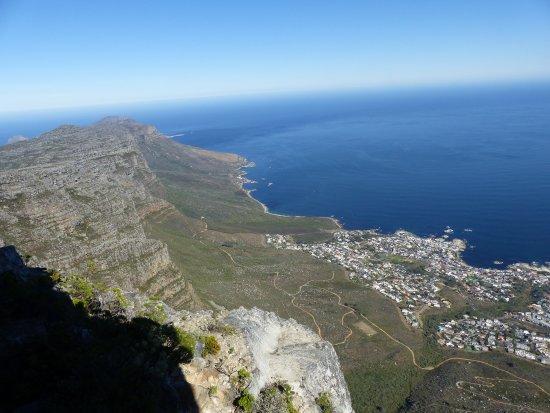 Cape Town Central, South Africa: Sud de la Table