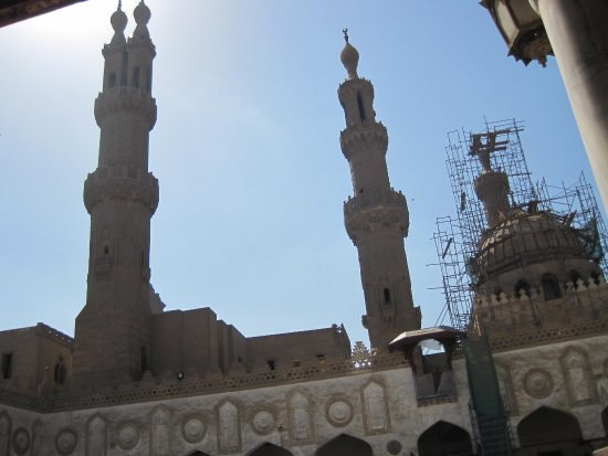 Mosque of Al-Azhar : Extraordinary Minarets of the Mosque