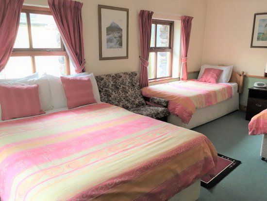 Cloghane, Ireland: Family Room - Double bed