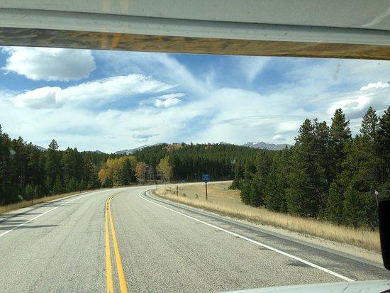 Buffalo, Wyoming: open road