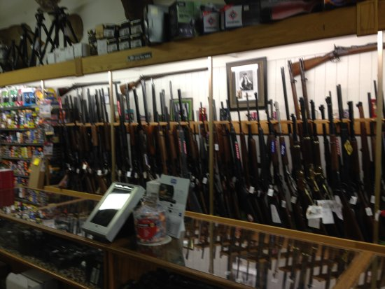 Buffalo, Wyoming: local gun shop