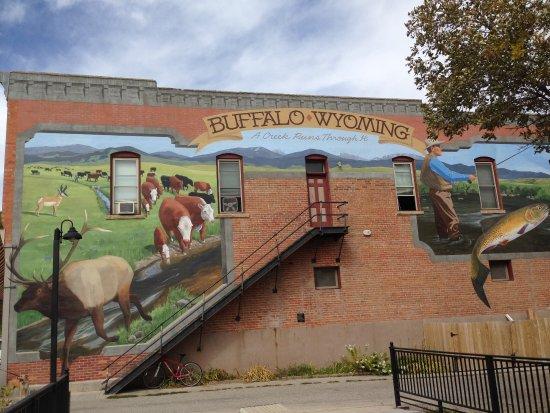 Buffalo, Wyoming: Mural derr