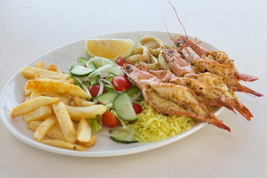 Sodwana, Южная Африка: The seafood platters are well known and always popular!
