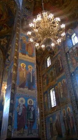 Hram Vnutri Izobrazhenie Hram Spas Na Krovi Sankt Peterburg