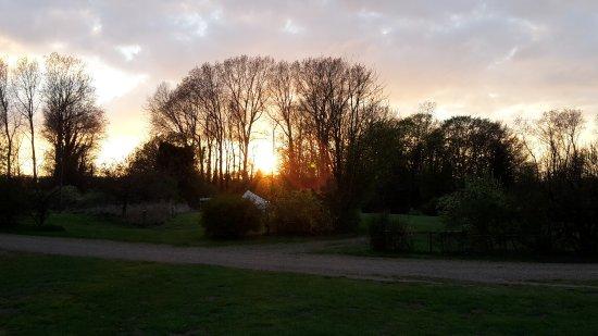 East Harling, UK: Sunset