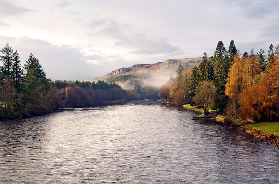 Dunkeld House Hotel : River Tay - Dunkedl House Hotel around the corner