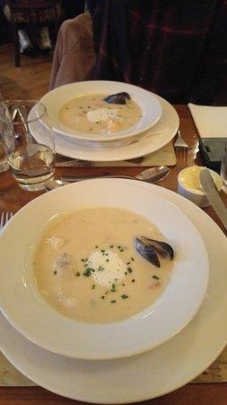 Bricin Restaurant: Seafood chowder