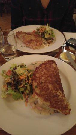 Bricin Restaurant: Boxty chicken