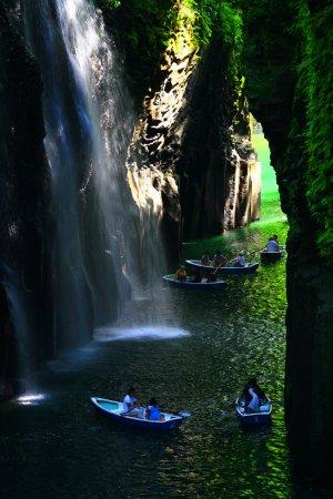 Takachiho-cho, Japan: 真名井の滝