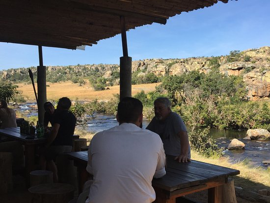 Limpopo Province, Güney Afrika: Special lunch place.
