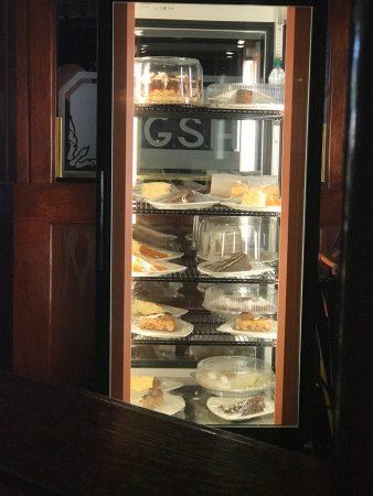 Dixon, IL: Desert display inside Galena Steak House