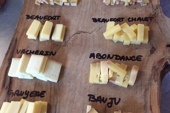 Le Restaurant Alpin : Fromages
