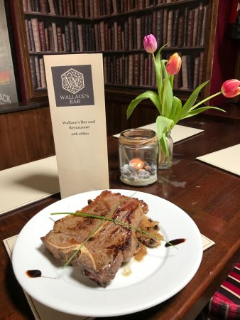 Glin, Irlanda: T Bone Steak Special