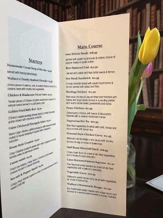 Glin, Ireland: Our Summer Menu