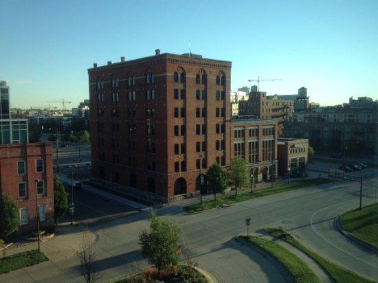 downtown view picture of springhill suites denver. Black Bedroom Furniture Sets. Home Design Ideas