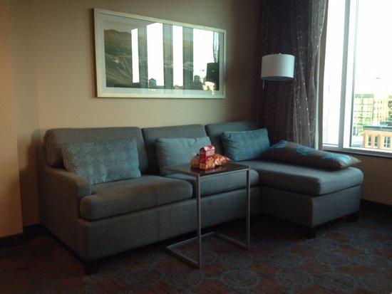 SpringHill Suites Denver Downtown: J Lounge Sofa Hide-a-Bed