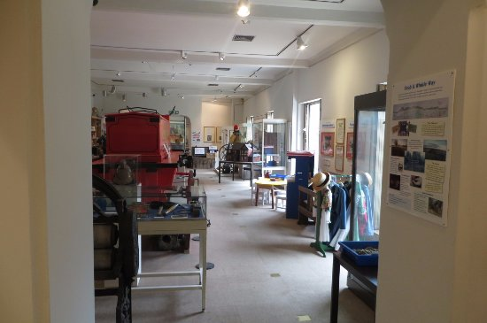 Whitstable Museum and Gallery: interior view