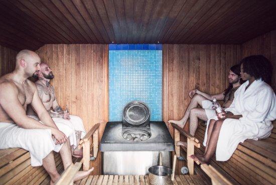 Hotel Helka: Sauna