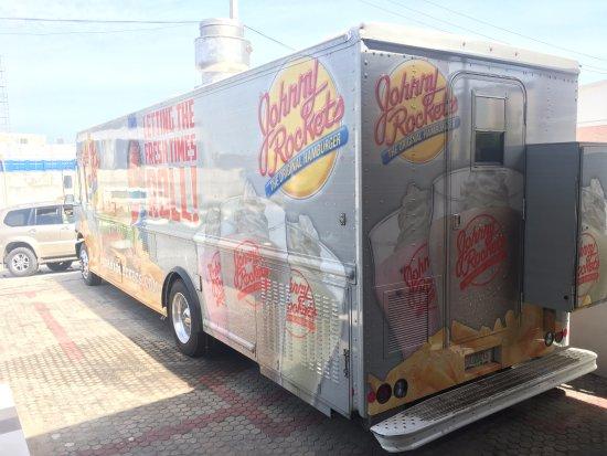 Johnny Rockets : JR food truck