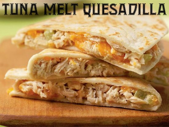 Bellefontaine, Οχάιο: A twist on the traditional tuna melt!