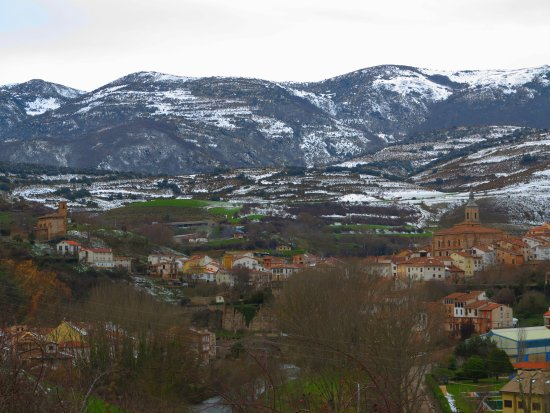 Torrecilla en Cameros town in the hills