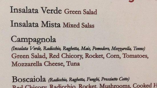 Pummarola Drink Ristorante : Салат с тунцом (Campagnola)
